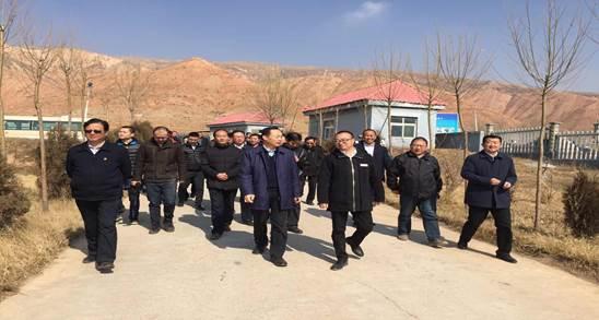 青海省西宁市张晓容市长一行莅临青海湖及圣亚高原